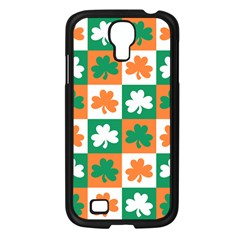Ireland Leaf Vegetables Green Orange White Samsung Galaxy S4 I9500/ I9505 Case (black) by Alisyart