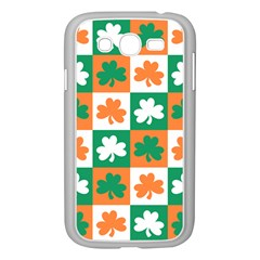 Ireland Leaf Vegetables Green Orange White Samsung Galaxy Grand Duos I9082 Case (white) by Alisyart