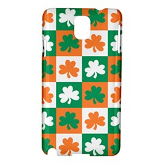Ireland Leaf Vegetables Green Orange White Samsung Galaxy Note 3 N9005 Hardshell Case by Alisyart