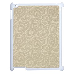 Leaf Grey Frame Apple Ipad 2 Case (white) by Alisyart