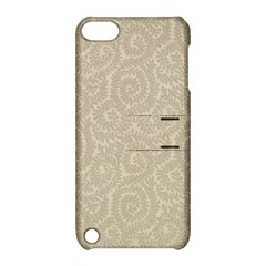 Leaf Grey Frame Apple Ipod Touch 5 Hardshell Case With Stand by Alisyart