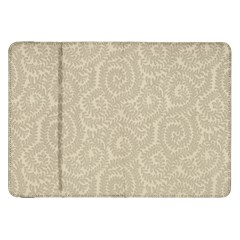 Leaf Grey Frame Samsung Galaxy Tab 8 9  P7300 Flip Case by Alisyart