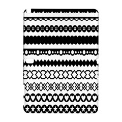 Love Heart Triangle Circle Black White Galaxy Note 1