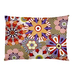 Flower Floral Sunflower Rainbow Frame Pillow Case (two Sides)