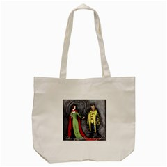 Beauty And The Beast Tote Bag (cream) by athenastemple