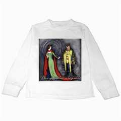 Beauty And The Beast Kids Long Sleeve T Shirts by athenastemple