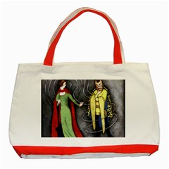 Beauty And The Beast Classic Tote Bag (red) by athenastemple