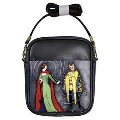 Beauty And The Beast Girls Sling Bags by athenastemple