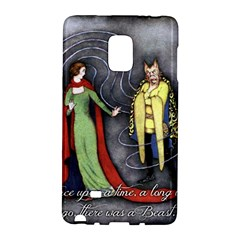 Beauty And The Beast Galaxy Note Edge by athenastemple