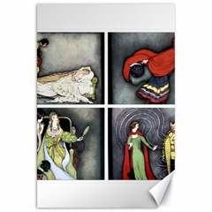 Fairy Tales Canvas 20  X 30   by athenastemple