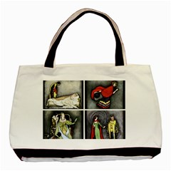 Fairy Tales Basic Tote Bag (two Sides) by athenastemple
