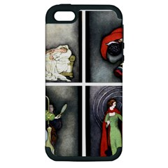 Fairy Tales Apple Iphone 5 Hardshell Case (pc+silicone) by athenastemple