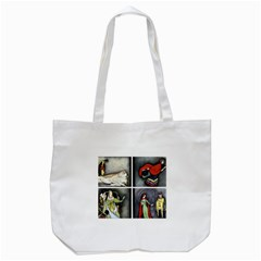 Fairy Tales Tote Bag (white) by athenastemple