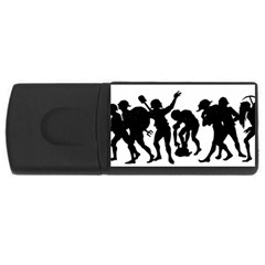 Seven Dwarfs Usb Flash Drive Rectangular (4 Gb)