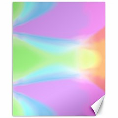 Abstract Background Colorful Canvas 11  X 14   by Simbadda