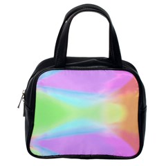 Abstract Background Colorful Classic Handbags (one Side) by Simbadda