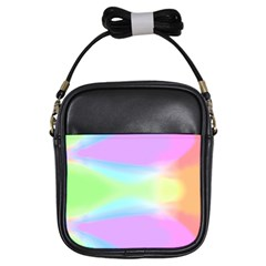 Abstract Background Colorful Girls Sling Bags by Simbadda