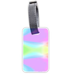 Abstract Background Colorful Luggage Tags (one Side)  by Simbadda