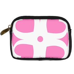 Love Heart Valentine Pink White Sweet Digital Camera Cases