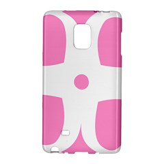 Love Heart Valentine Pink White Sweet Galaxy Note Edge by Alisyart