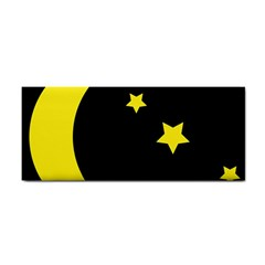 Moon Star Light Black Night Yellow Cosmetic Storage Cases