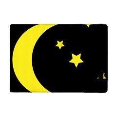 Moon Star Light Black Night Yellow Apple Ipad Mini Flip Case by Alisyart