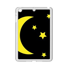 Moon Star Light Black Night Yellow Ipad Mini 2 Enamel Coated Cases