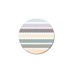 Muted Lace Ribbon Original Grey Purple Pink Wave Golf Ball Marker (10 Pack) by Alisyart