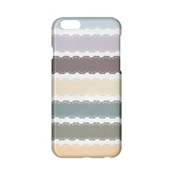 Muted Lace Ribbon Original Grey Purple Pink Wave Apple Iphone 6/6s Hardshell Case by Alisyart