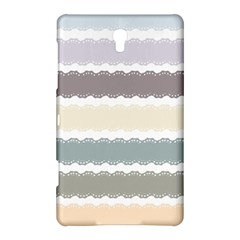 Muted Lace Ribbon Original Grey Purple Pink Wave Samsung Galaxy Tab S (8 4 ) Hardshell Case