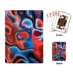 Abstract Fractal Playing Card by Simbadda