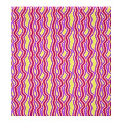 Pink Yelllow Line Light Purple Vertical Shower Curtain 66  X 72  (large)  by Alisyart