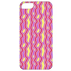 Pink Yelllow Line Light Purple Vertical Apple Iphone 5 Classic Hardshell Case by Alisyart