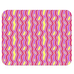 Pink Yelllow Line Light Purple Vertical Double Sided Flano Blanket (medium)