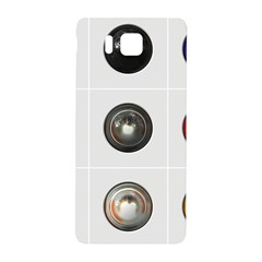 9 Power Buttons Samsung Galaxy Alpha Hardshell Back Case by Simbadda