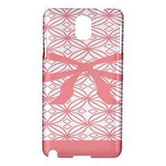 Pink Plaid Circle Samsung Galaxy Note 3 N9005 Hardshell Case by Alisyart
