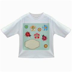 Buttons & Ladybugs Cute Infant/toddler T Shirts by Simbadda