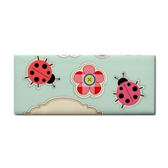 Buttons & Ladybugs Cute Cosmetic Storage Cases by Simbadda