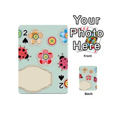 Buttons & Ladybugs Cute Playing Cards 54 (mini)  by Simbadda