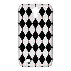 Plaid Triangle Line Wave Chevron Black White Red Beauty Argyle Samsung Galaxy Mega 6 3  I9200 Hardshell Case by Alisyart