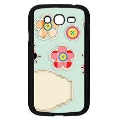 Buttons & Ladybugs Cute Samsung Galaxy Grand Duos I9082 Case (black)