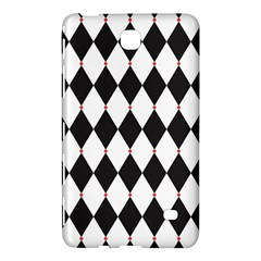 Plaid Triangle Line Wave Chevron Black White Red Beauty Argyle Samsung Galaxy Tab 4 (7 ) Hardshell Case  by Alisyart