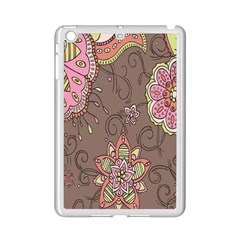 Ice Cream Flower Floral Rose Sunflower Leaf Star Brown Ipad Mini 2 Enamel Coated Cases