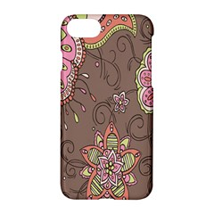 Ice Cream Flower Floral Rose Sunflower Leaf Star Brown Apple Iphone 7 Hardshell Case