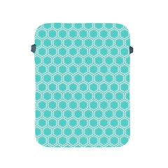Plaid Circle Blue Wave Apple Ipad 2/3/4 Protective Soft Cases by Alisyart