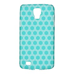 Plaid Circle Blue Wave Galaxy S4 Active