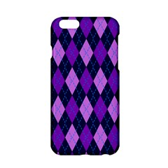 Plaid Triangle Line Wave Chevron Blue Purple Pink Beauty Argyle Apple Iphone 6/6s Hardshell Case by Alisyart