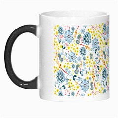 Flower Floral Bird Peacok Sunflower Star Leaf Rose Morph Mugs by Alisyart