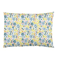 Flower Floral Bird Peacok Sunflower Star Leaf Rose Pillow Case (two Sides)