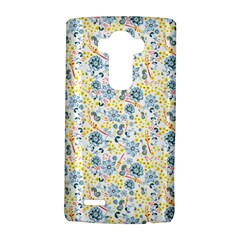 Flower Floral Bird Peacok Sunflower Star Leaf Rose Lg G4 Hardshell Case